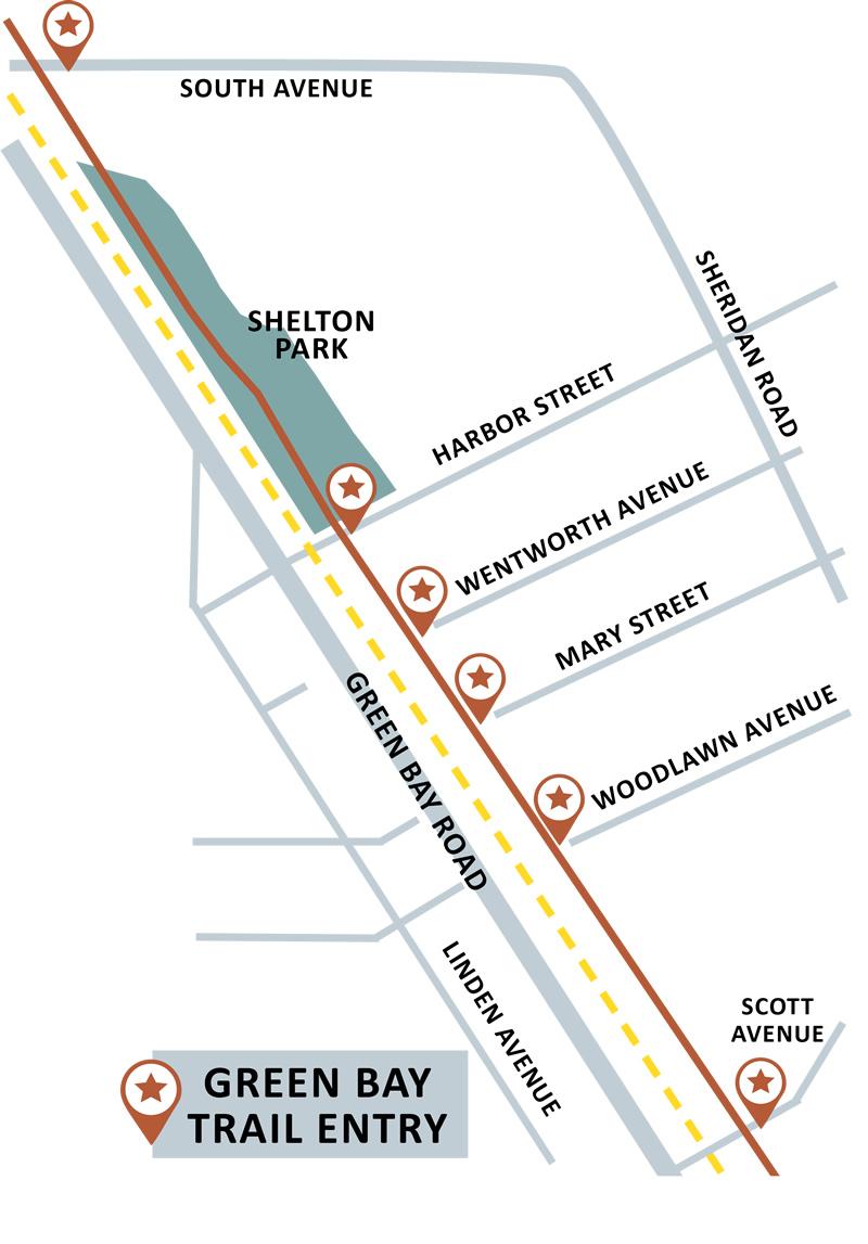 GreenBay Trail Map