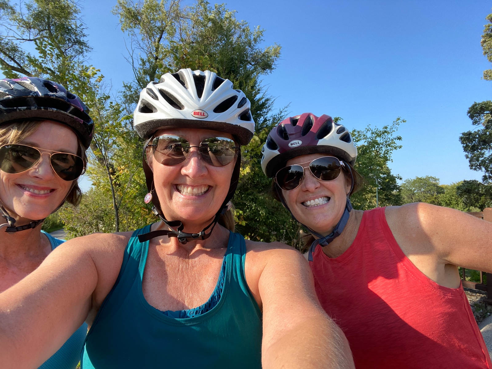 3 Friends Every Friday Bike the Trail